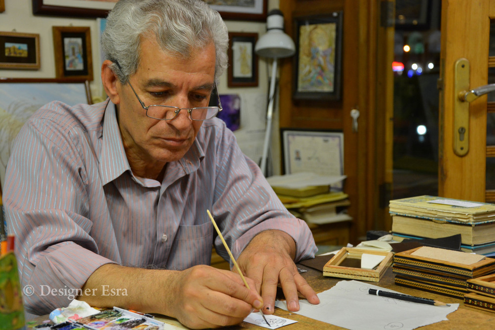 Miniature painter in Esfahan