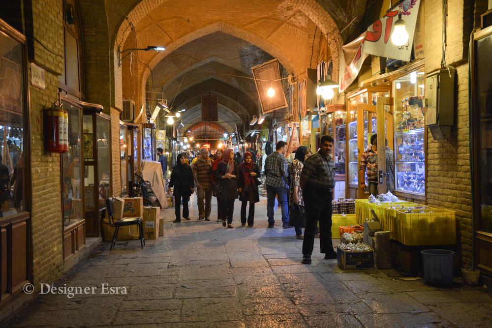 Bazaar Shopping in Iran