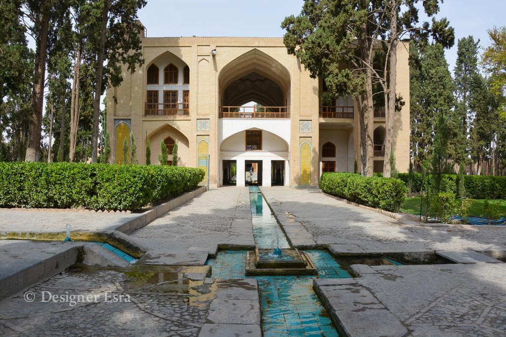 Fin garden in Kashan, Iran