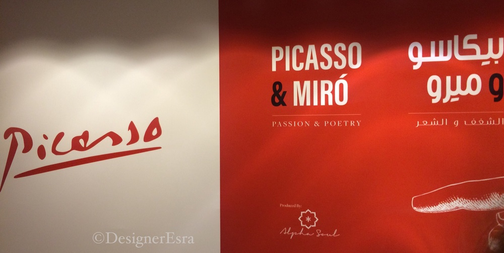 Picasso & Moir exhibition in the Annex One in Burj Khalifah