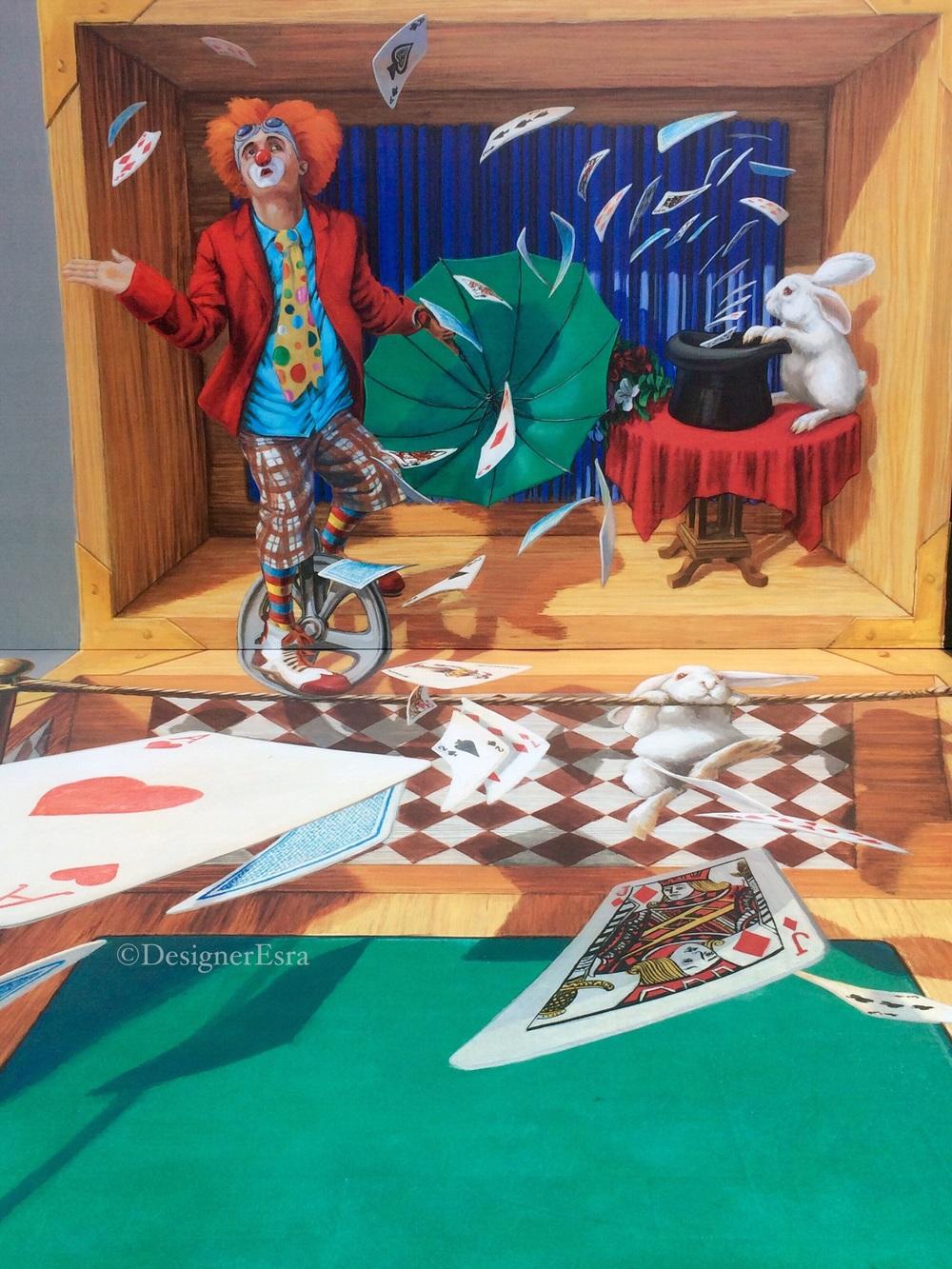 3D Circus Street Painting in Dubai