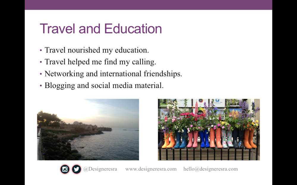 Travel & Education
