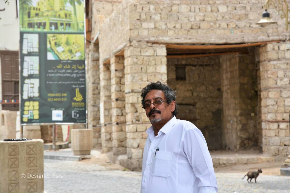 Abu Sami, the Saudi Tour Guide that volunteered to show me around