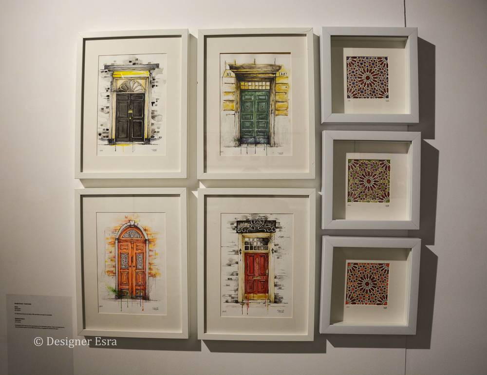 Doors and Islamic Patterns by Khadija Kareem
