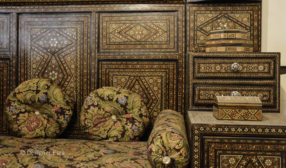 Historic furniture in Jeddah, Saudi