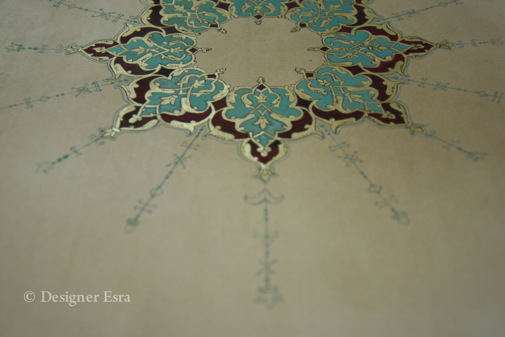 Islamic Illumination by Designer Esra