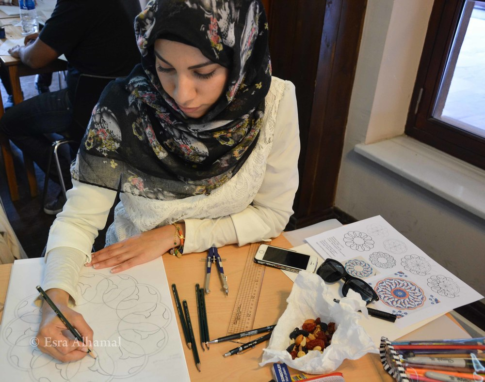 Learning Islamic geometric and biomorphic patterns with the Art of Islamic Pattern