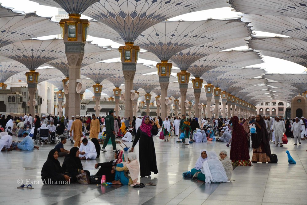 Architecture of the prophet's mosque