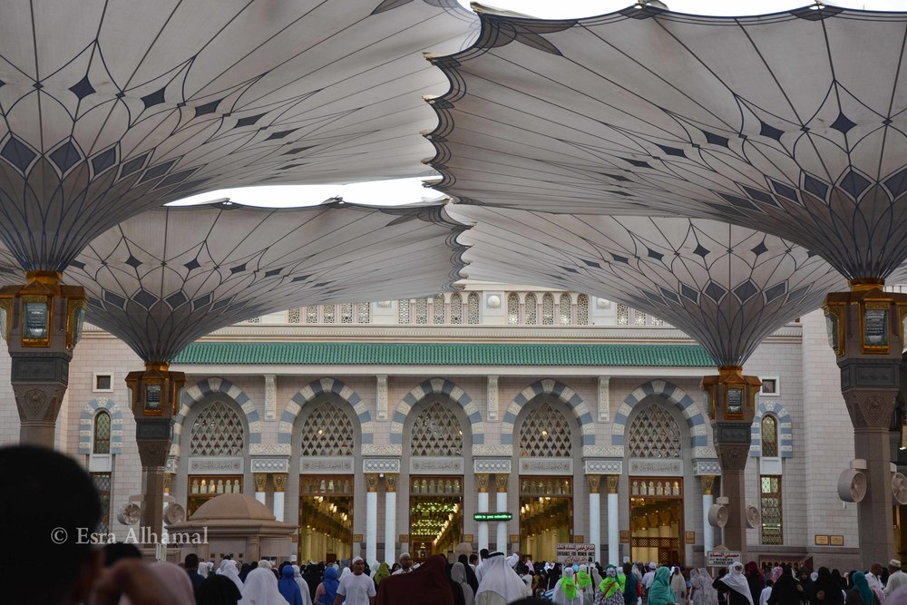 Entrance to the prophet's mosque
