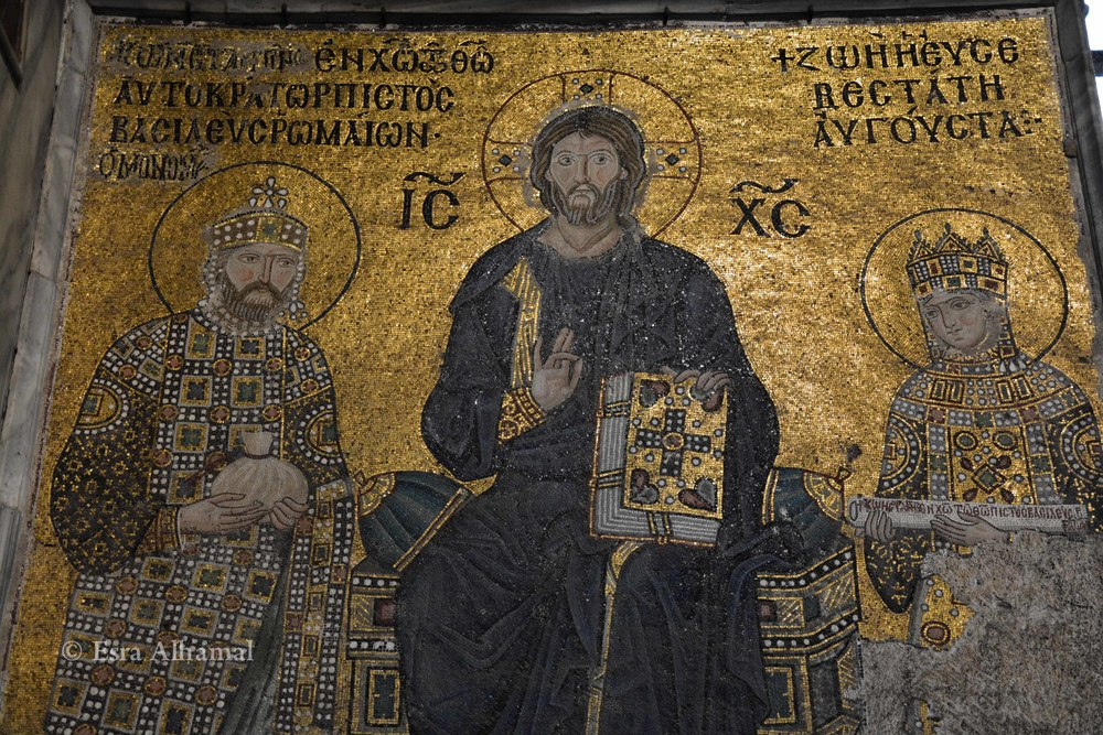 Christian Art in Hagia Sophia