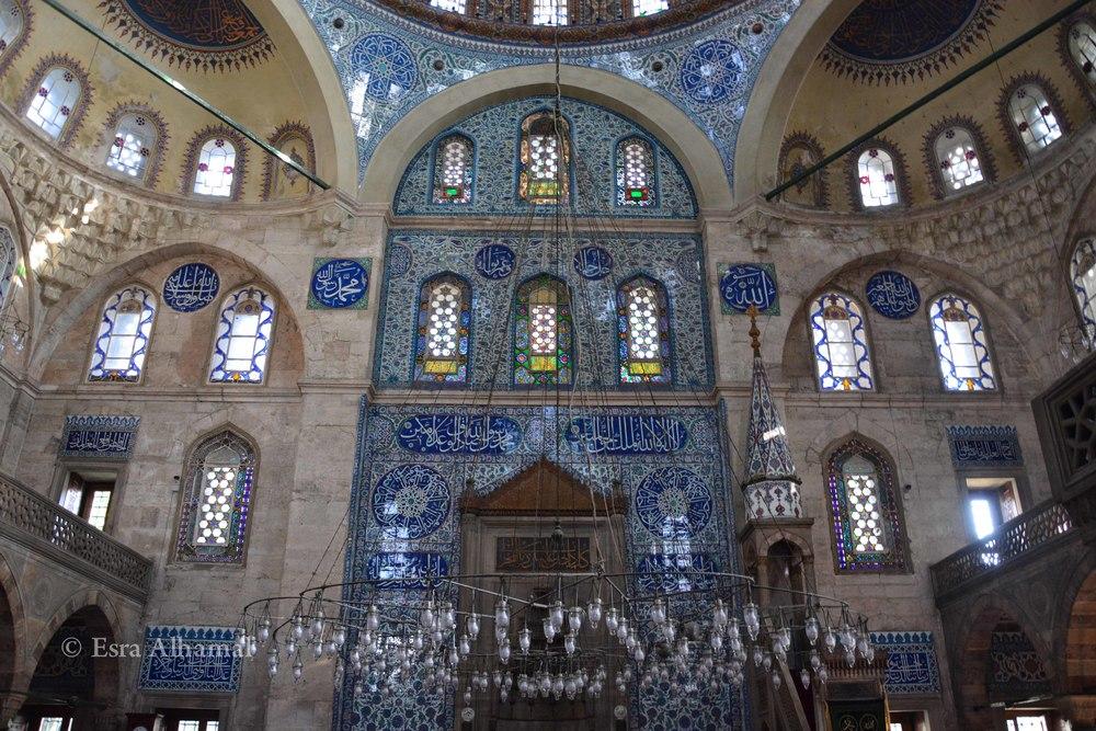 Sokullu Sehit Mehmet Pasa Mosque Wall details
