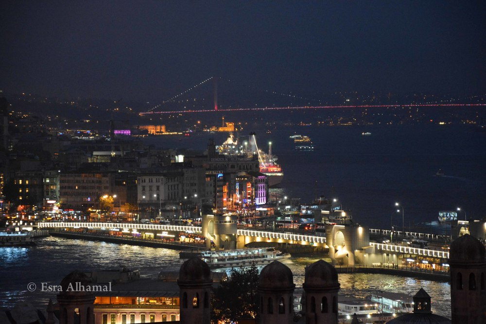 The beautiful Istanbul View from the Sulymania Camii