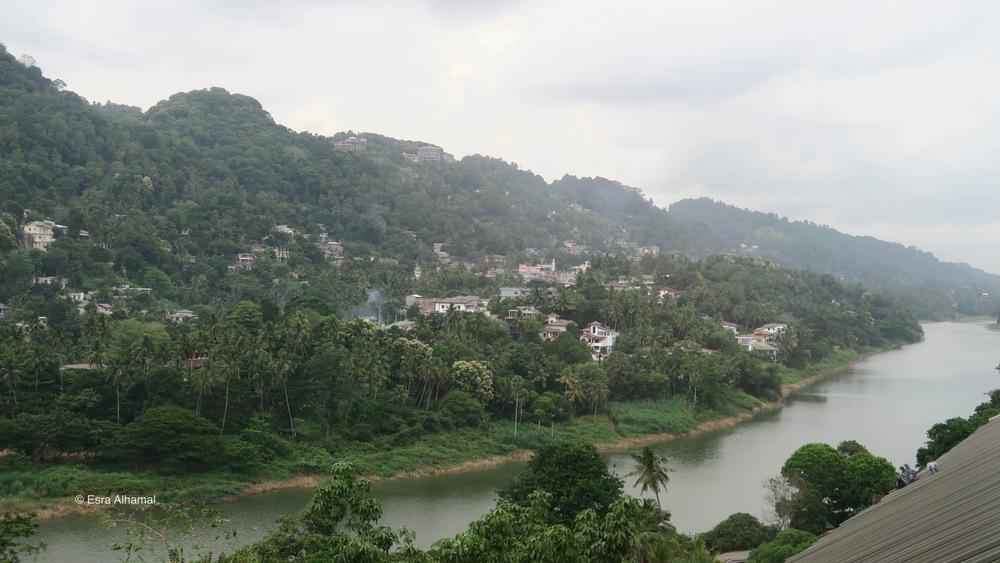 Kandy River from Earl's Regency