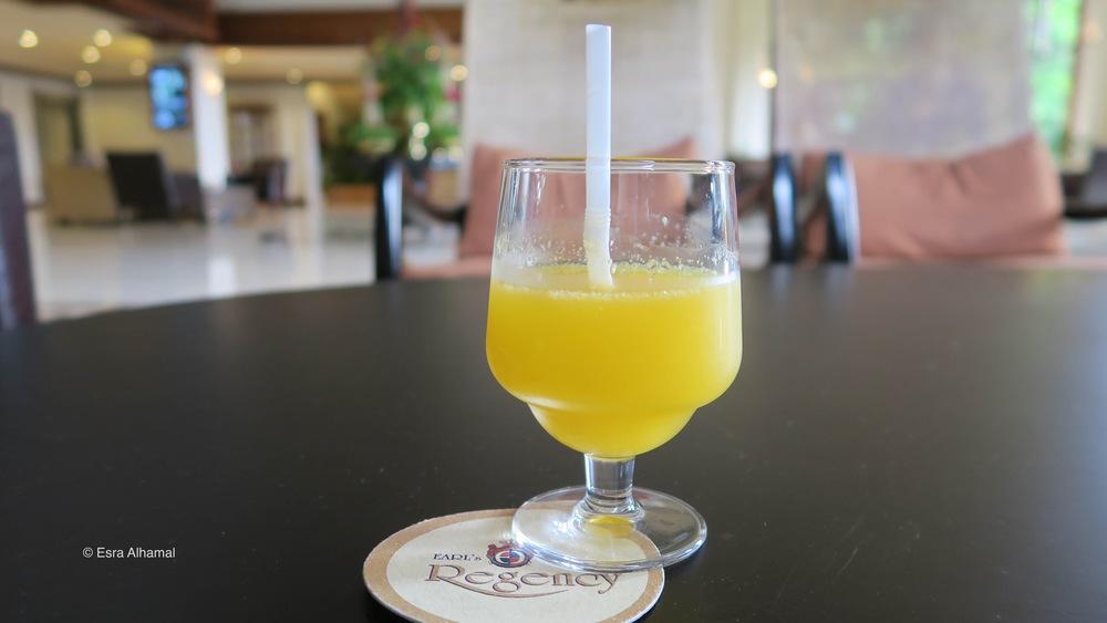 Fresh Juice at Earl's Regency