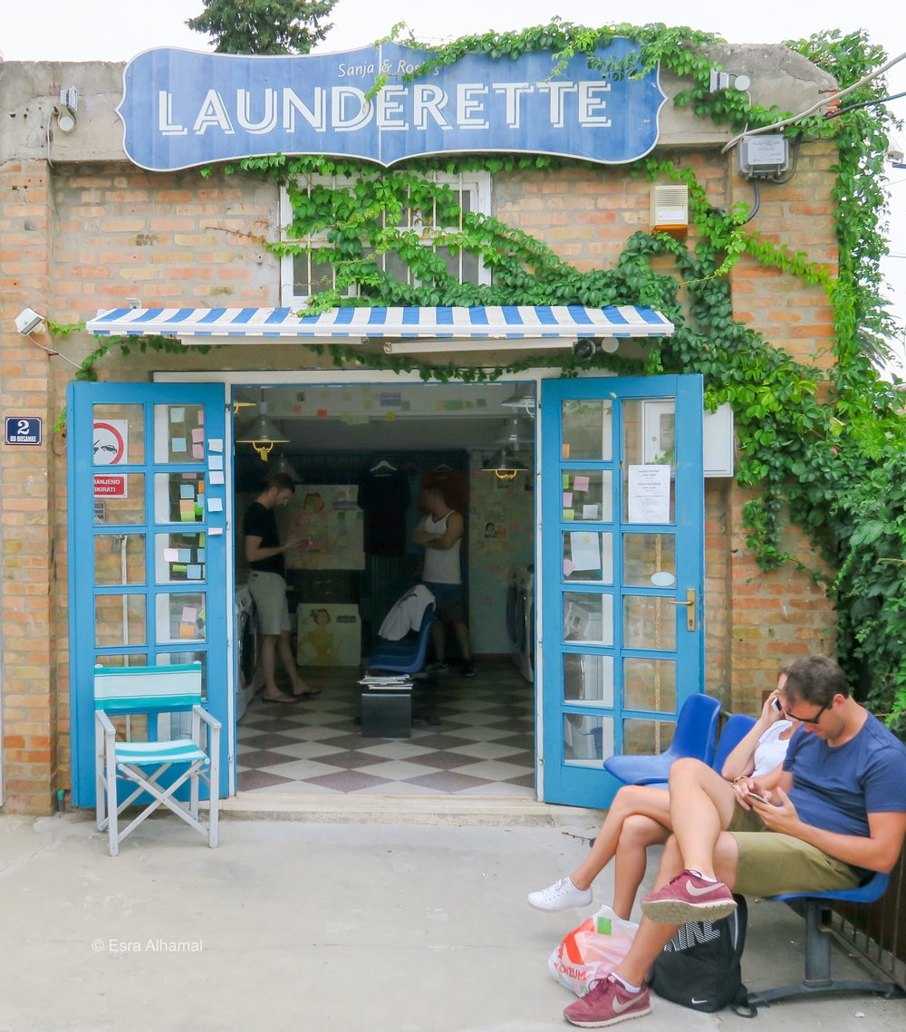 Launderette in Dubrovnik