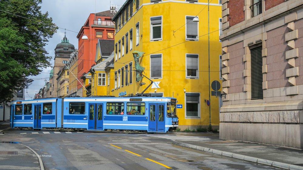 Tram in Oslo