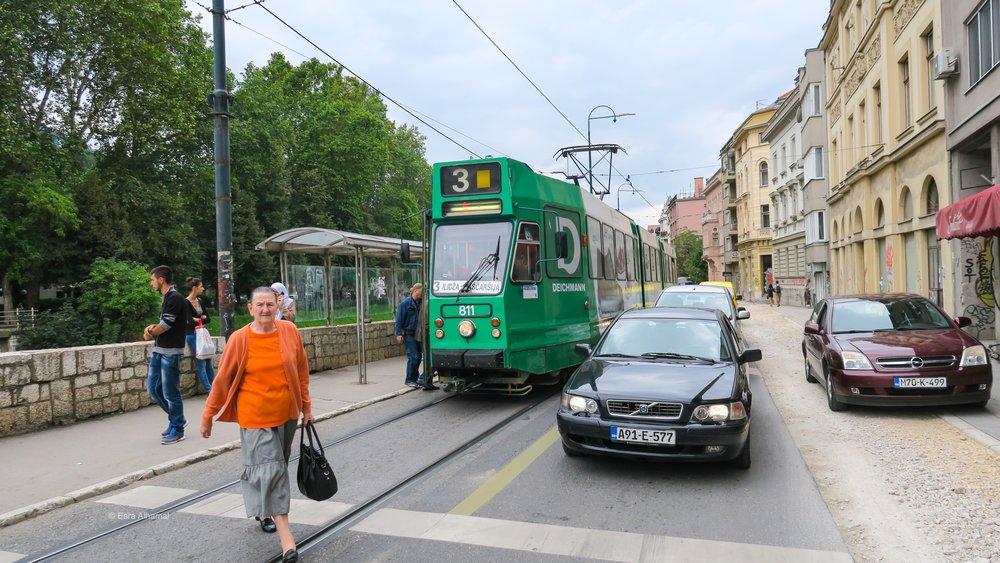 public transports in Sarajevo