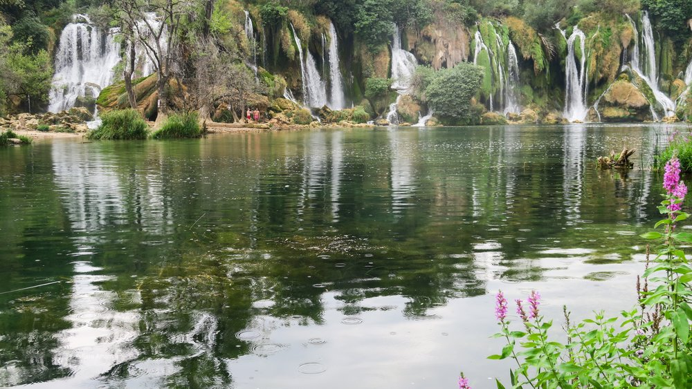 Kravica Waterfalls around Mostar