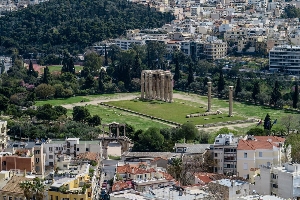 TEMPLE OF OLYMPIAN ZEUS STILI OLIMPIOU DIOS