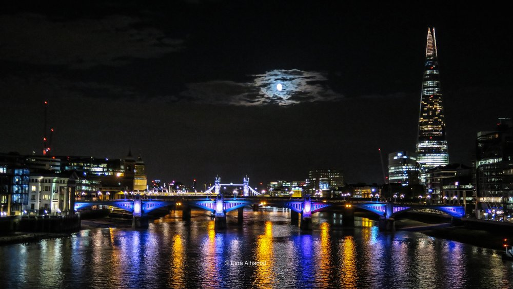 London Night Photography Using Canon G7X