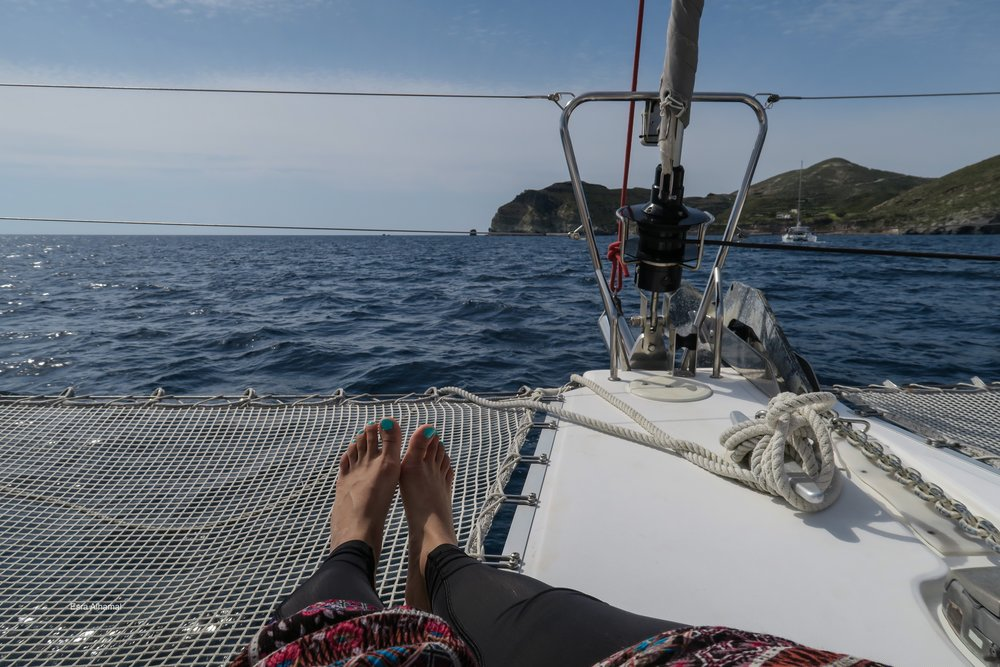 Yacht Trip in Santorini