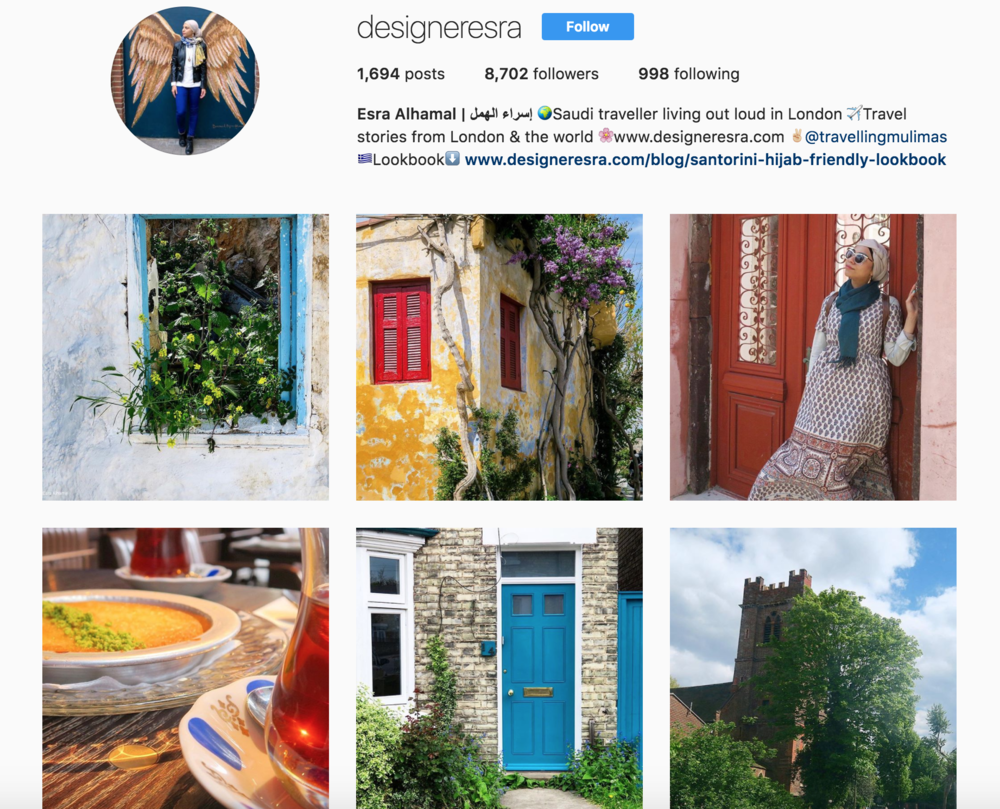 Muslim Female Traveller Instagram