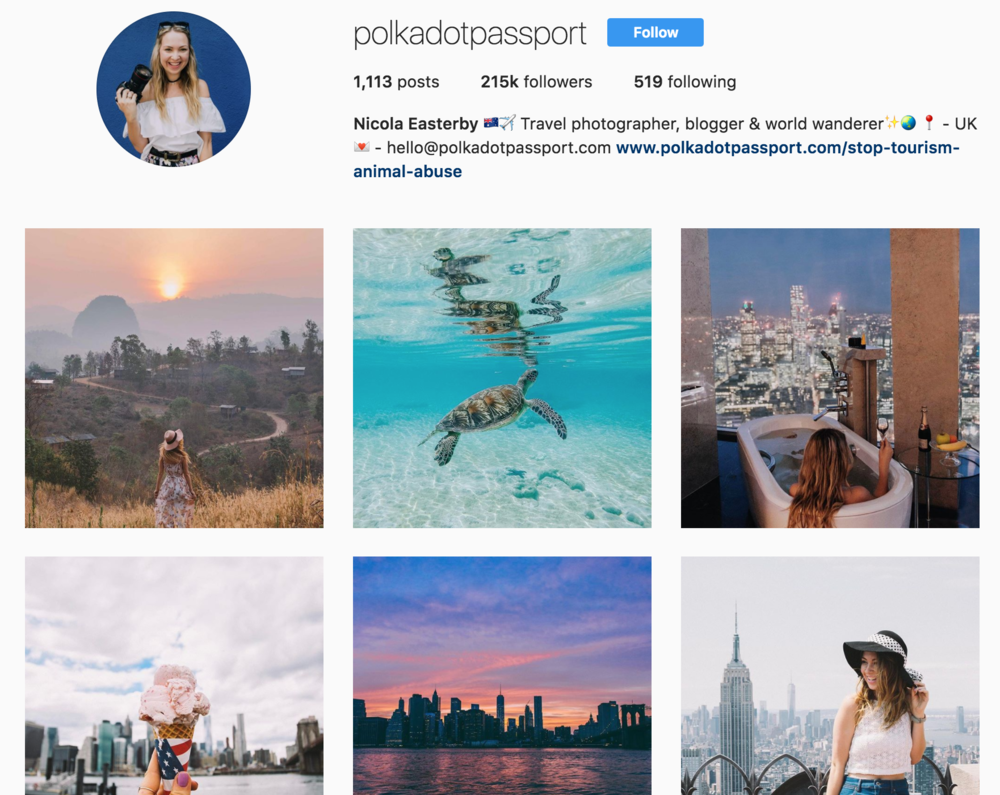 Instagram Tips and Highlights from Polkadot Passport