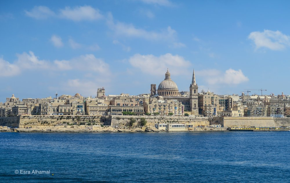 waterfront in Malta