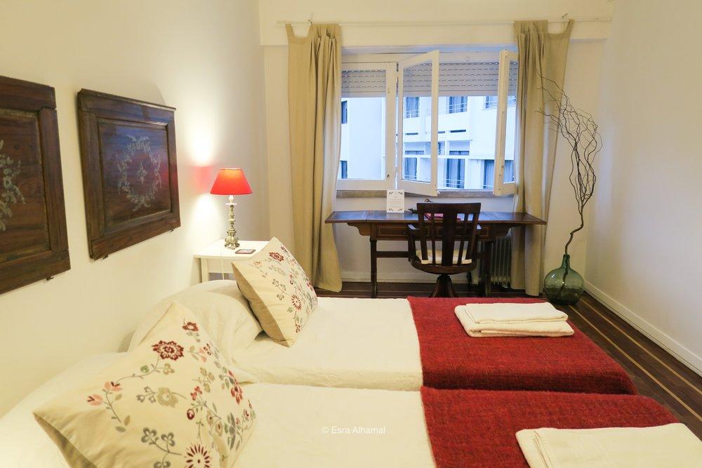 Twin Bedroom in Lisbon