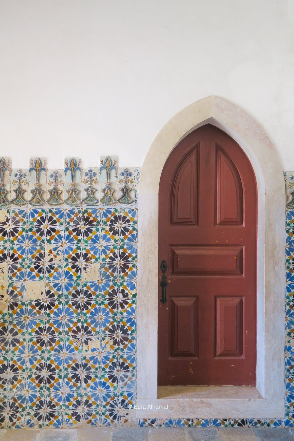 Geometric Islamic Patterns in Sintra Palace