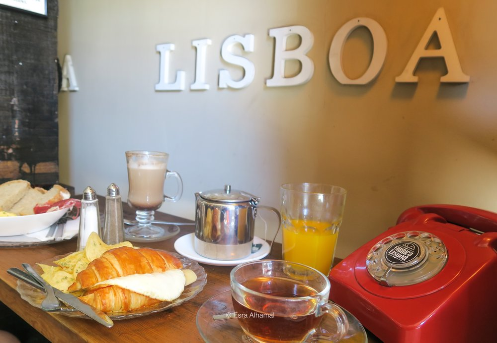 Breakfast in Lisbon