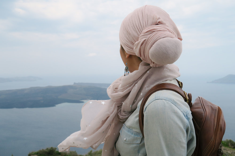 Muslim Woman Travelling Solo