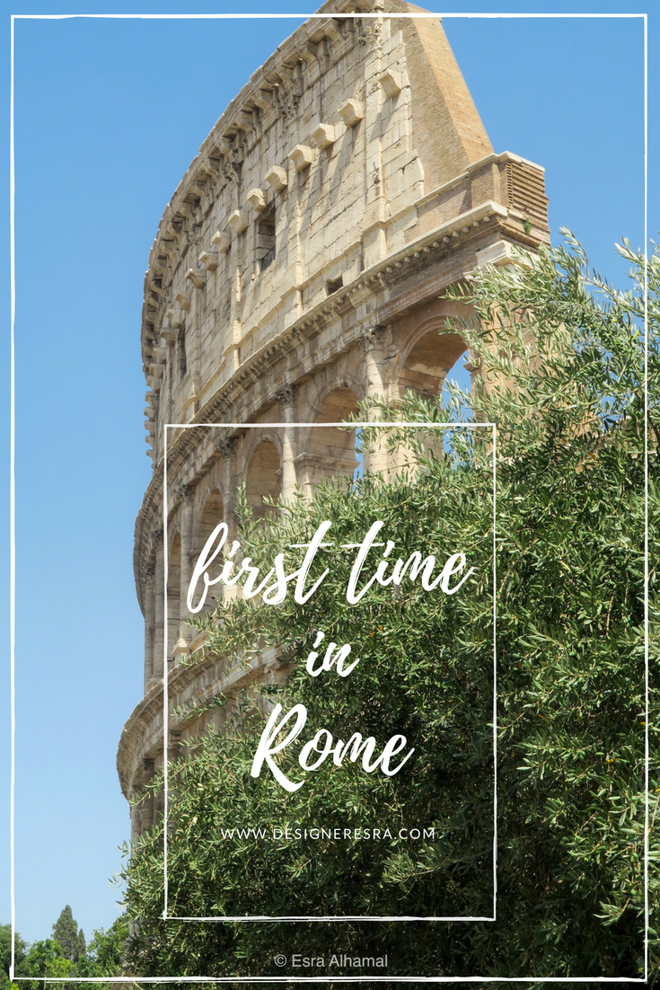 First Time in Rome