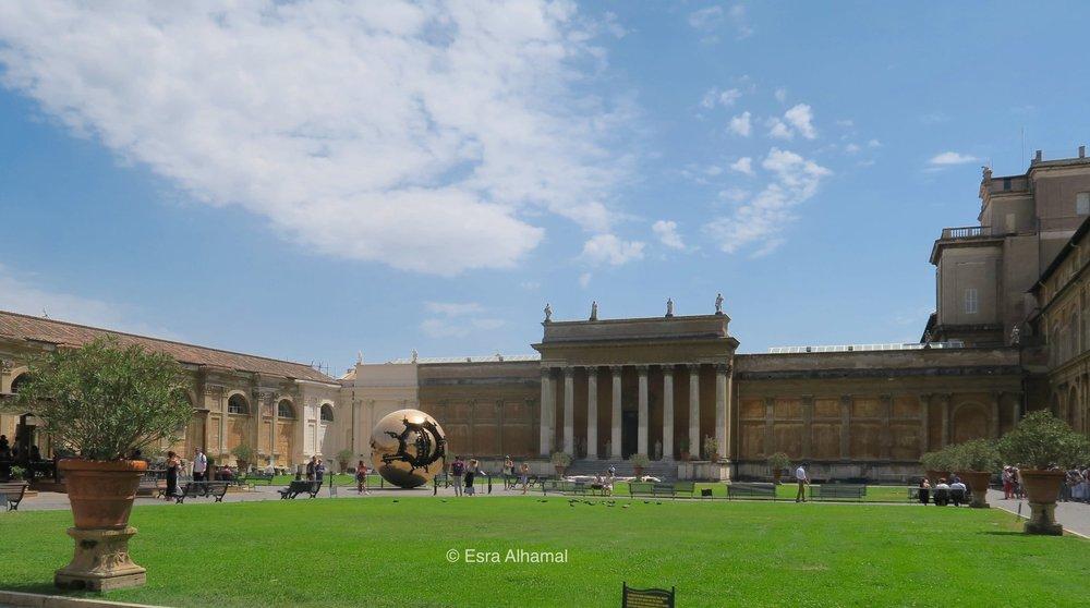 Vatican Museum Courtyard