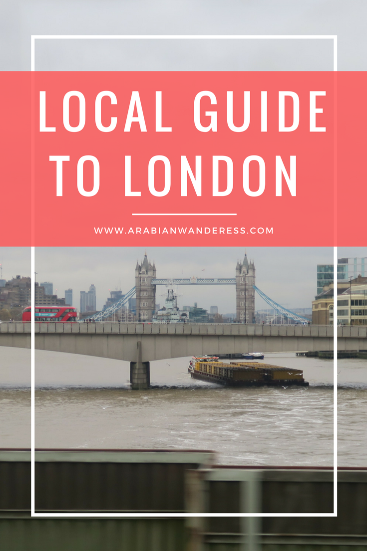 Local Guide to London - Four Day Itinerary to London