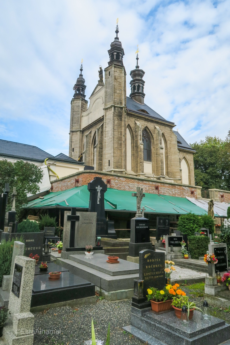 The Sedlec Ossuary grave yard
