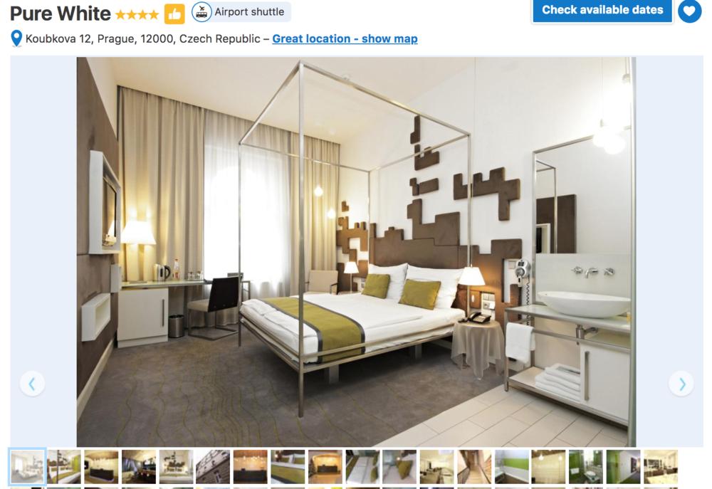 Pure White Hotel Prague