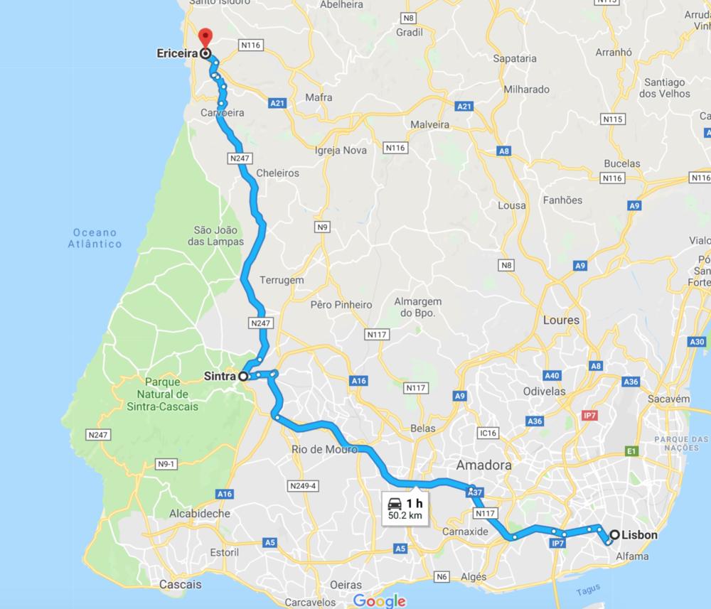 ٦ أيام في البرتغال