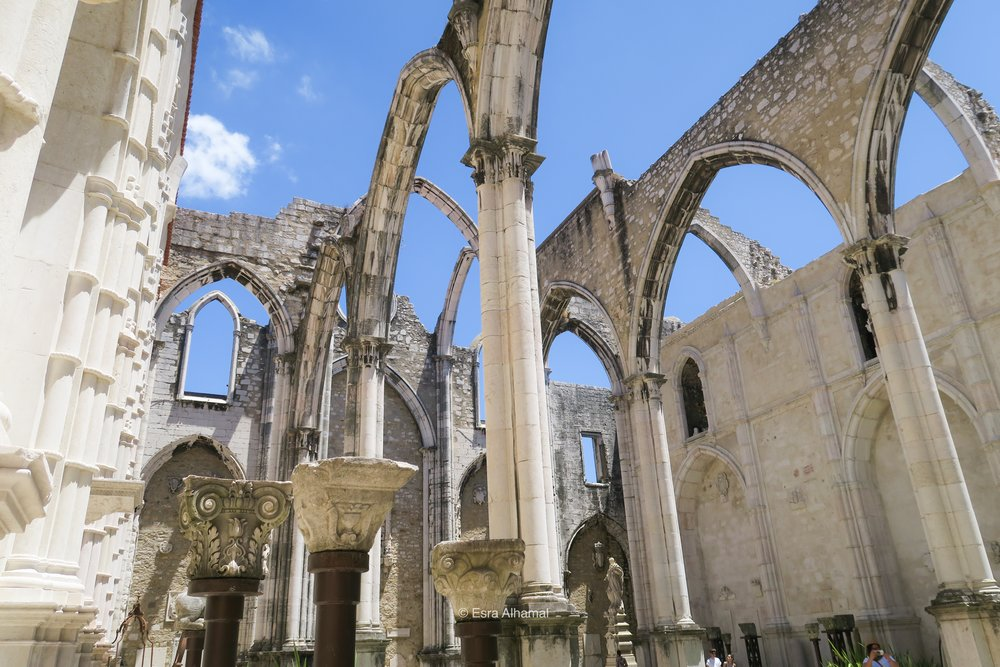 Fourth Lisbon Activity: The roofless cathedral (Carmo Convent)