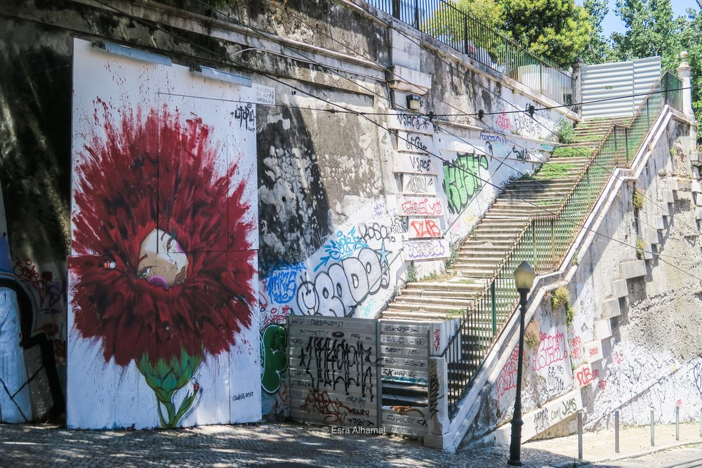 Second Lisbon Activity: Following the Street Art