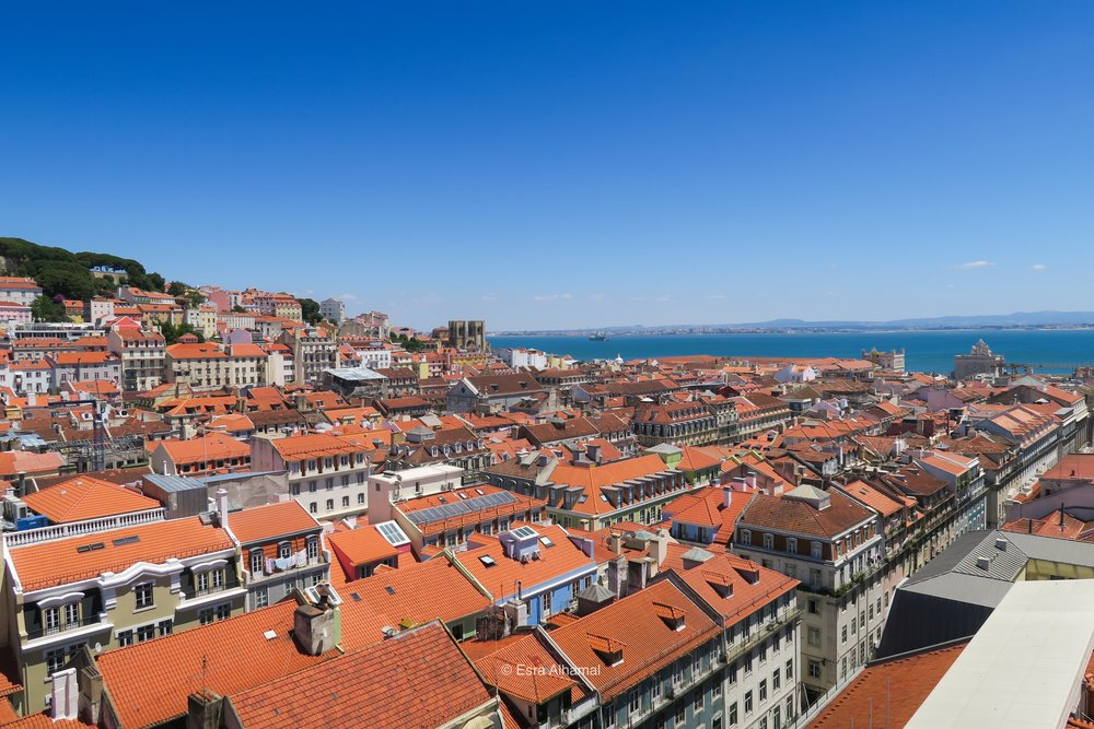 Third Lisbon Activity: See the city from above!