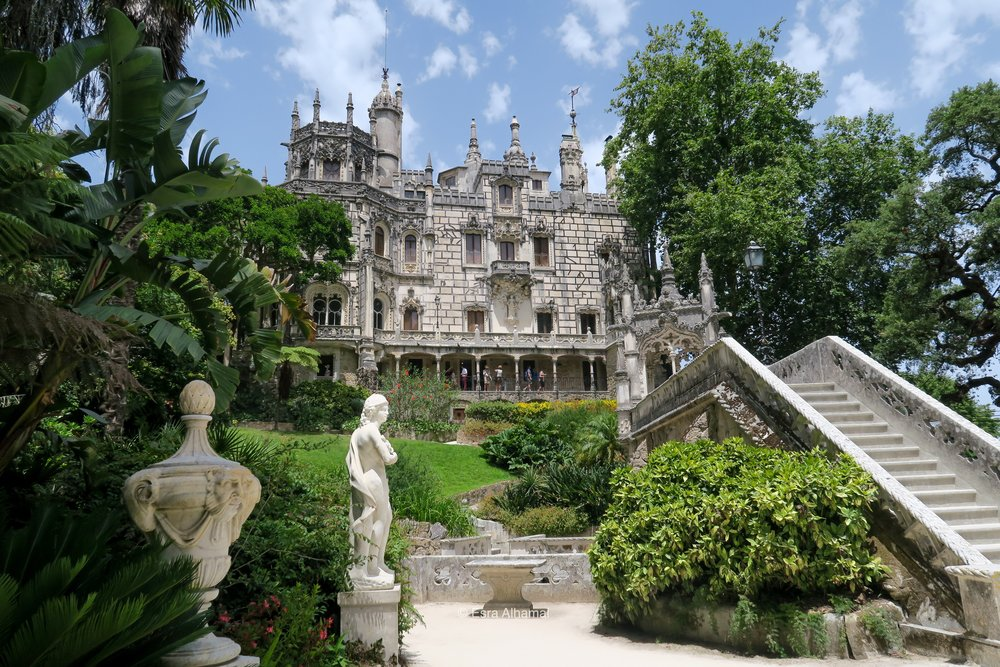 Two Day in Sintra Castles in Portugal