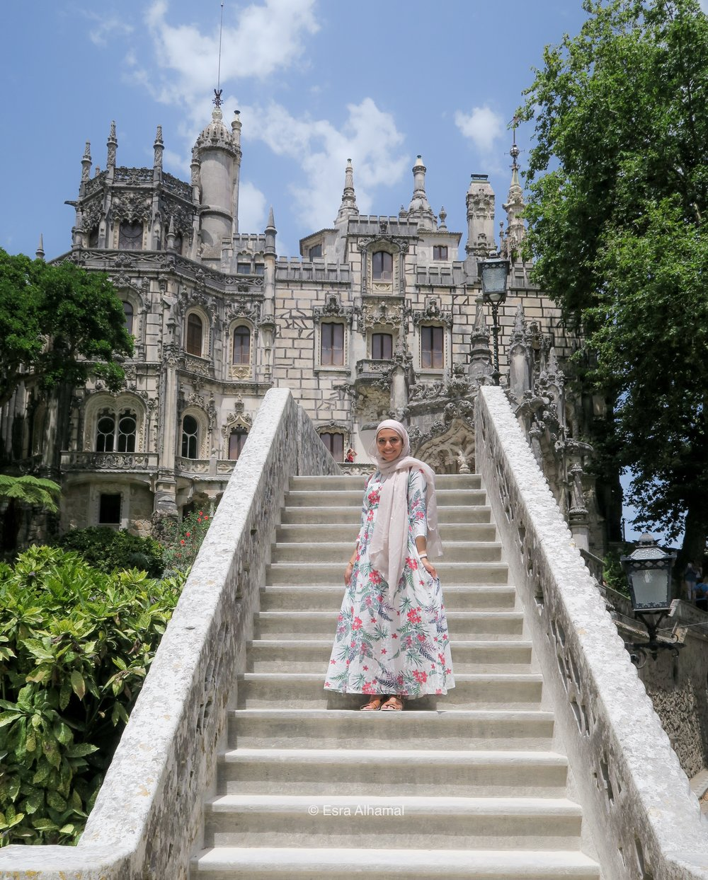 Quinta de Regaleria in Sintra Modest Fashion