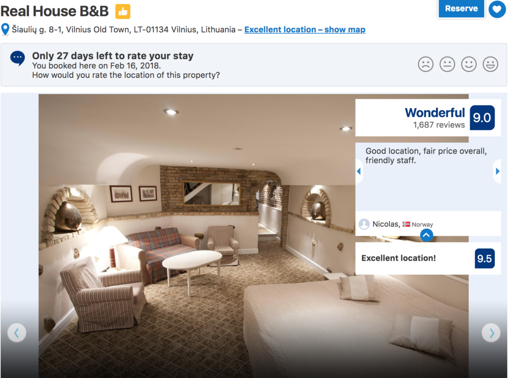 Where to stay in Vilnius? Vilnius Hotels