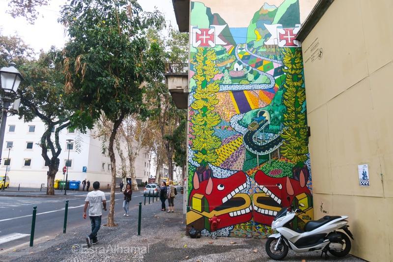 Graffiti in Funchal, Madeira