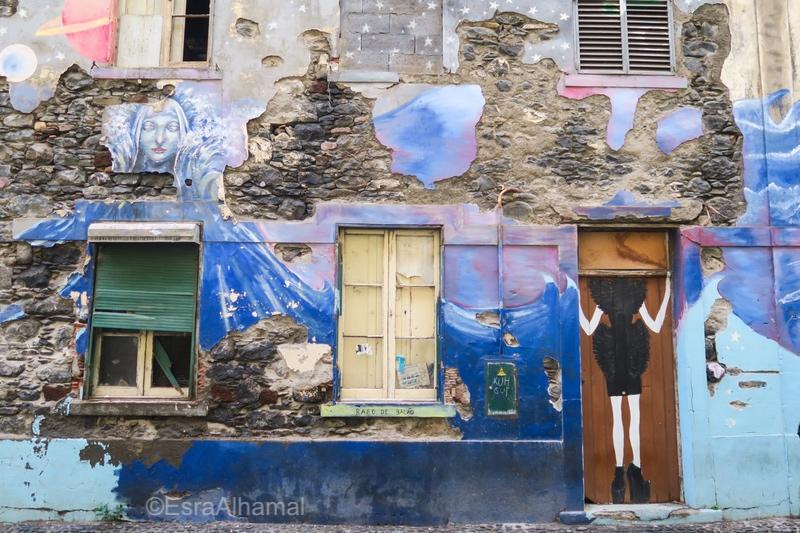 Street art in Funchal, Madeira