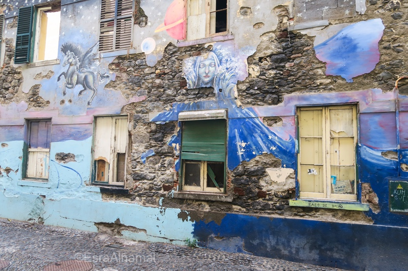 Grafitti art in Funchal, Madeira