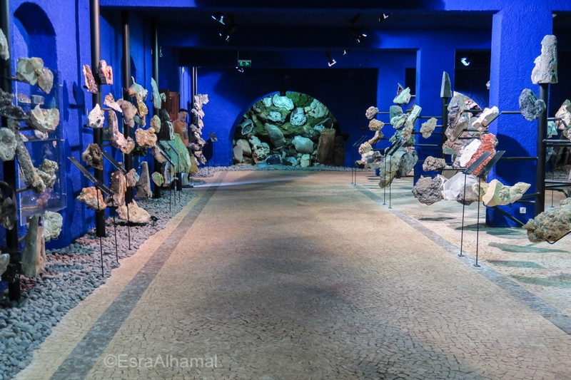 Gems and stones gallery in Madeira