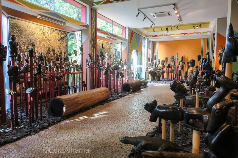 Art Gallery in Tropical Garden