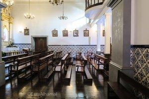داخل الكنيسة في وادي الراهبات في جزيرة ماديرا
